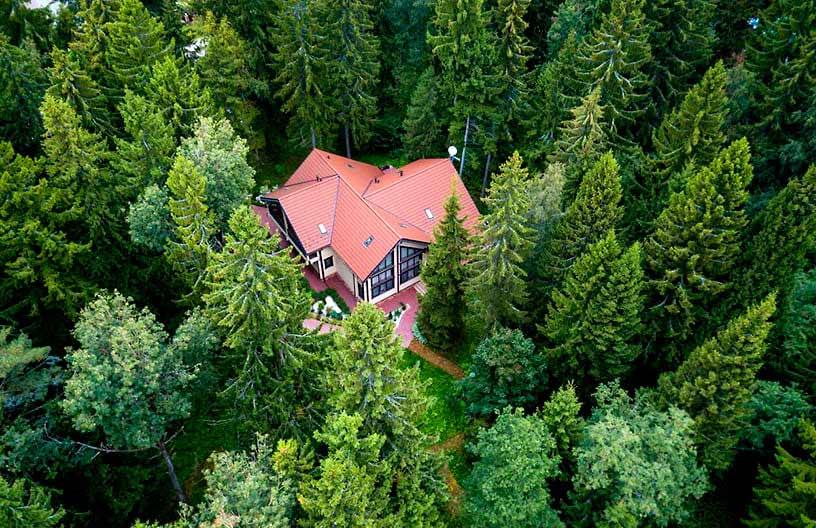 Уютный домик в лесу за 40 минут от столицы