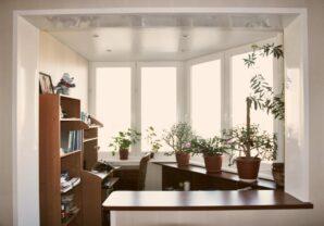 Балкон с уютом