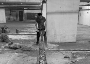 Резка бетона — очень быстро